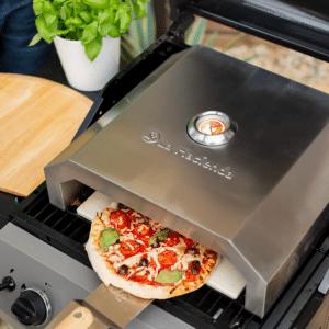 La Hacienda Firebox outdoor pizza oven for gas/charcoal BBQs