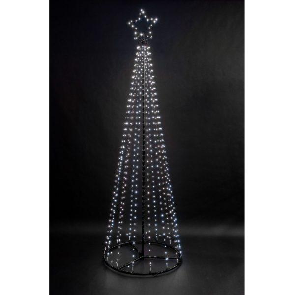 1.8m Snowtime Maypole Christmas tree - 560 LEDs