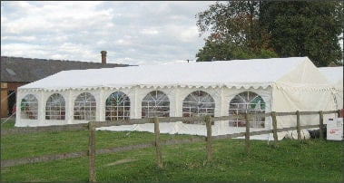 6mx14m 500gsm marquee