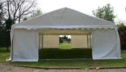 6m wide 500gsm marquee