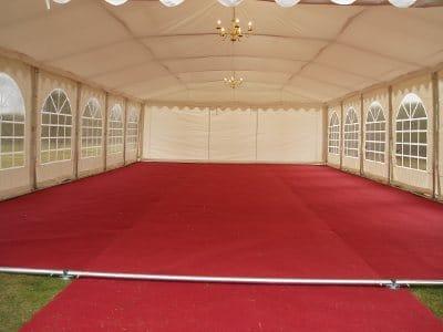 Marquee Carpet 6mx14m