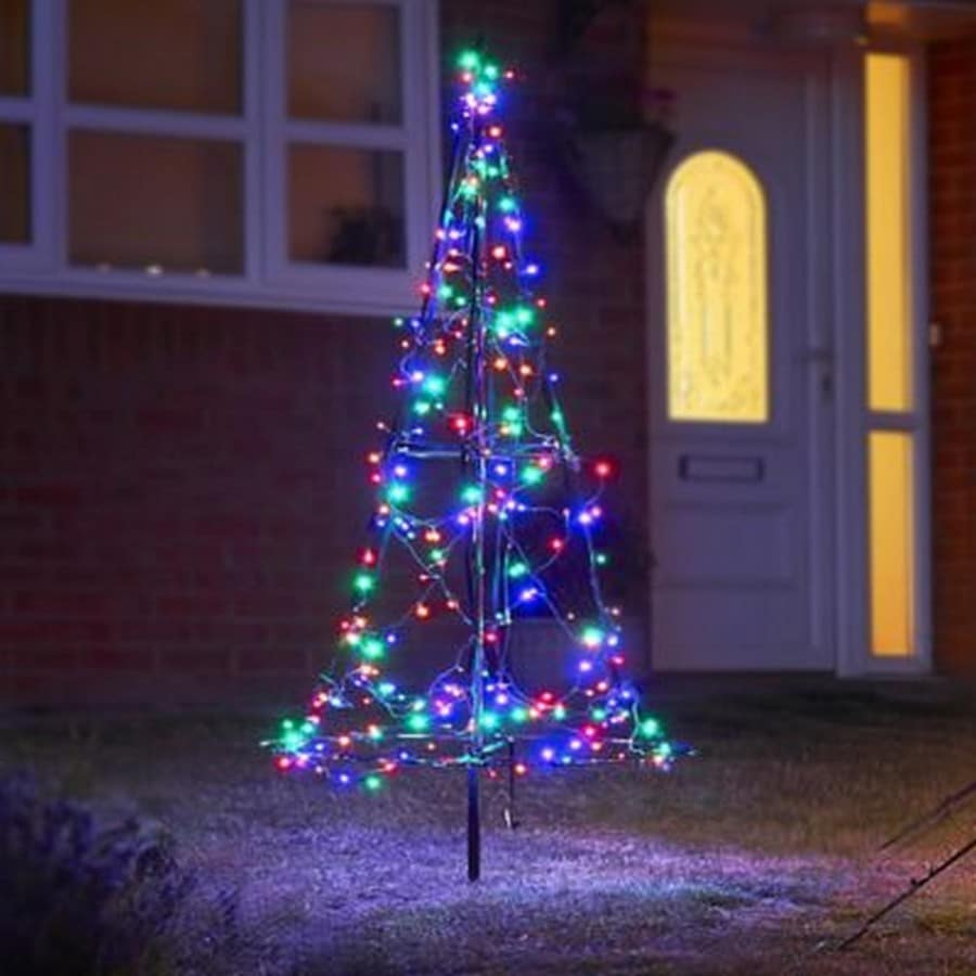 1.85m Fairybell LED tree