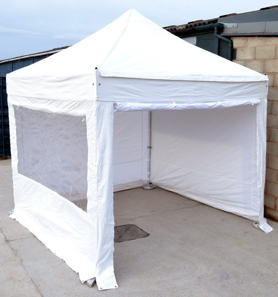 2.5m x 2.5m Protex 50 Instant Shelter with sides