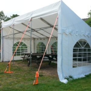 3m x 6m 650gsm PVC deluxe demi marquee