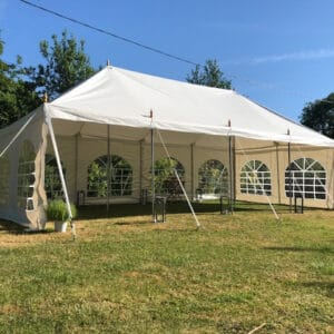 4m x 8m traditional marquee