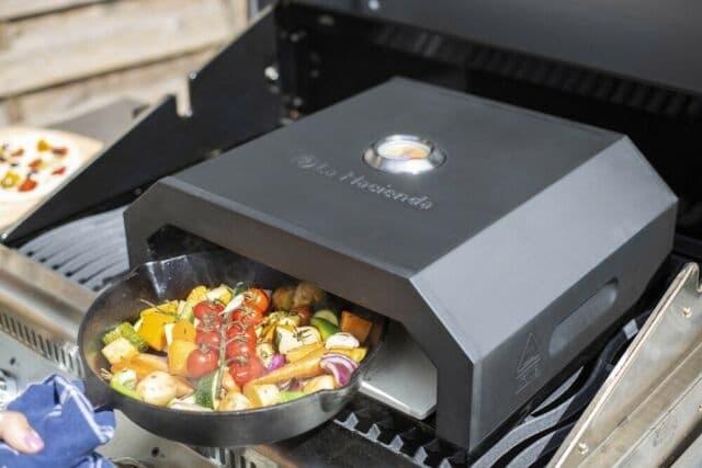 La Hacienda firebox pizza oven