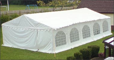 6mx10m Deluxe Marquee for Sale