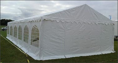 6m x 12m Deluxe 650gsm PVC Marquee