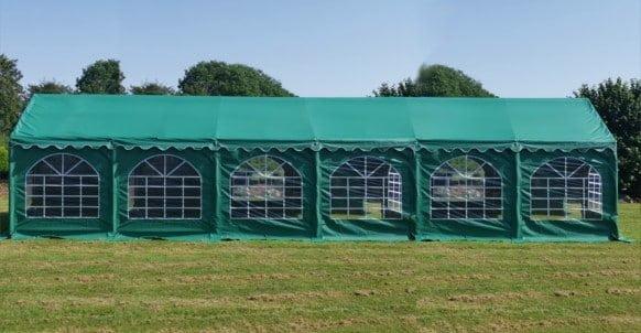 6M X 12M green PVC marquee