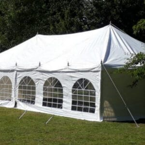 6m x 12m 500gsm PVC traditional style marquee