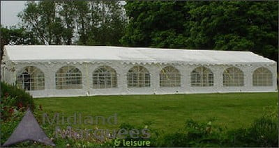 6m x 16m Deluxe 650gsm Marquee