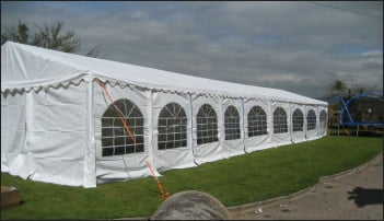 6mx18m Deluxe Marquee for Sale