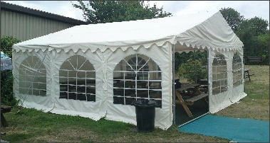 6m x 4m Deluxe 650gsm PVC Marquee