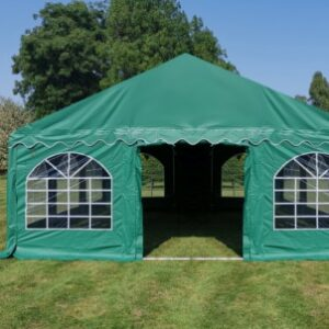 6m x 6m heavy duty 500gsm PVC commercial marquee