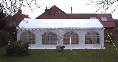 6mx8m 500gsm marquee
