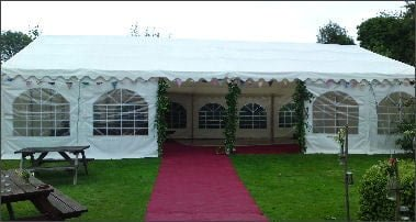 9m x 12m Deluxe 500gsm Commercial PVC Marquee