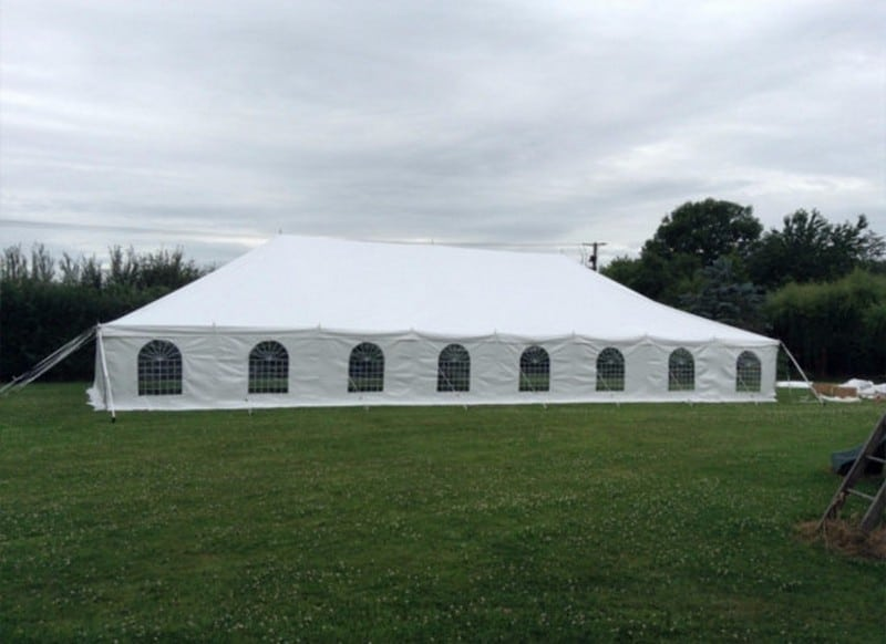 9mx18m traditional marquee