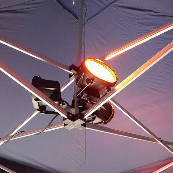3 way halogen Instant Shelter/pop up gazebo heater