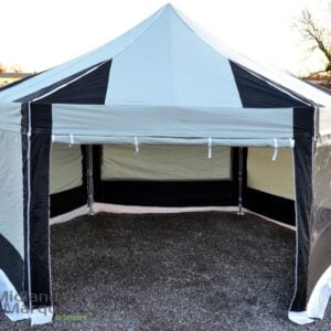 6m Hexagon Protex 50 Instant Shelter