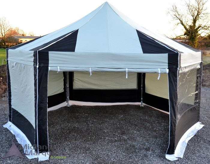 6mx6m Instant Shelter Hexaganol