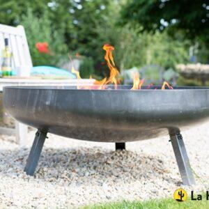 La Hacienda Pittsburgh steel firepit 80cm
