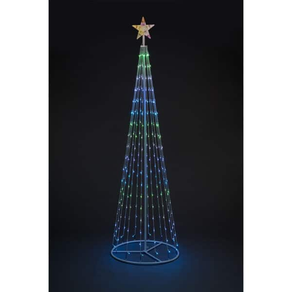 2.4m Snowtime LED cone tree RS05450