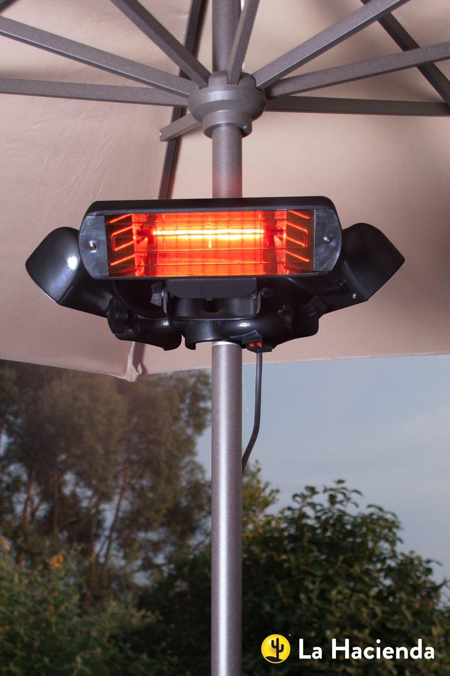 La Hacienda/Heatmaster electric parasol heater U2BSR24
