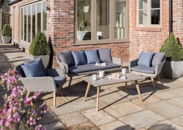 Norfolk Leisure Midori rattan lounge set
