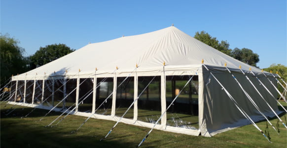 9m x 18m Traditional Style Deluxe PVC Marquee