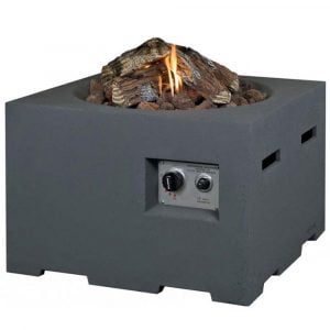 Norfolk Leisure Square Cocoon Gas Firepit 76cm