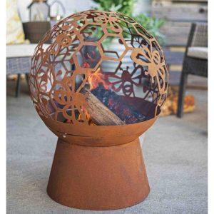 La Hacienda Honey Bee Fire Globe