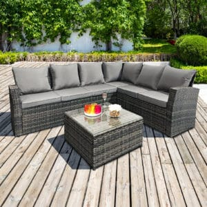 Oseasons® Barbados rattan sofa set - RH