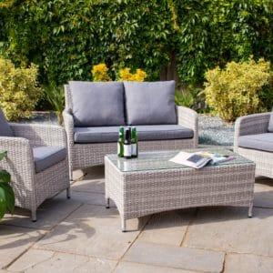 Norfolk Leisure Weybourne rattan sofa set